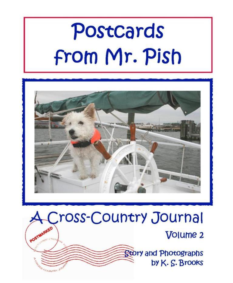 Postcards from Mr. Pish Volume 2 Cover Artwork